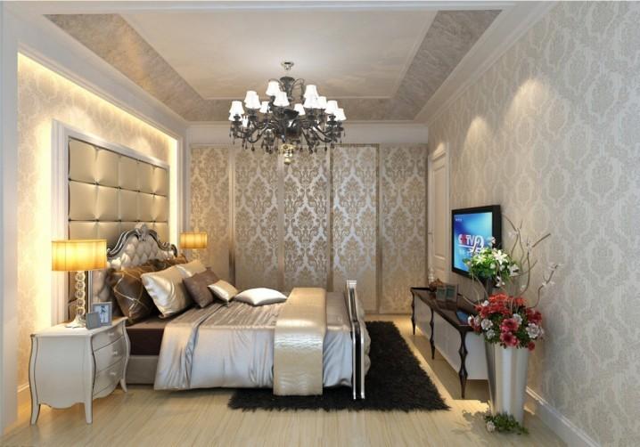 8 thiết kế phòng ngủ sang trọng với đèn chùm