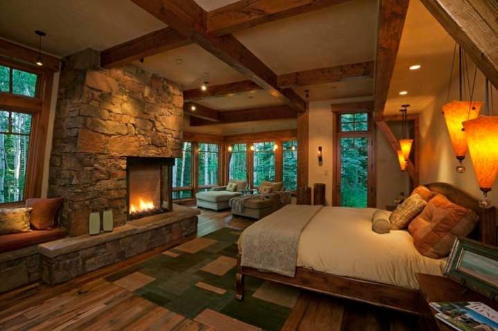 Thiết kế phòng ngủ đầy ấm áp và mộc mạc
