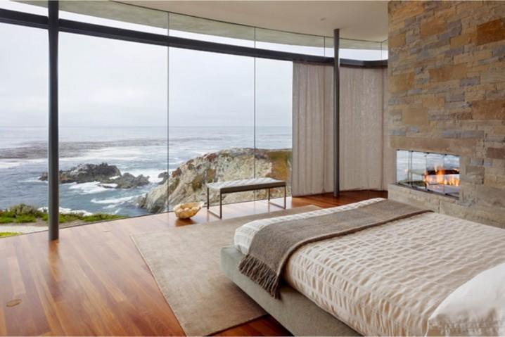 Phòng ngủ đẹp cho căn hộ cạnh bờ biển