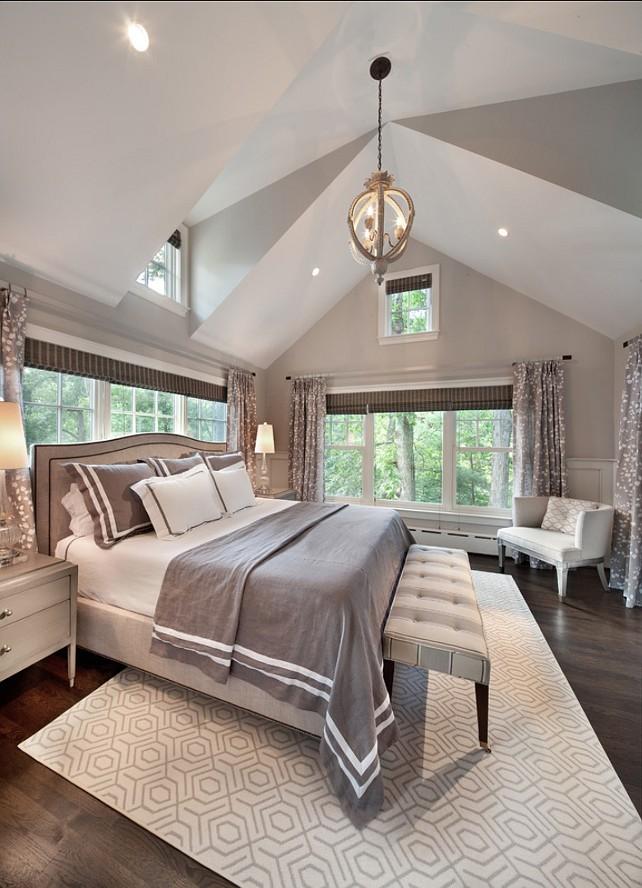 Những phòng ngủ hiện đại với thiết kế màu xám và trắng