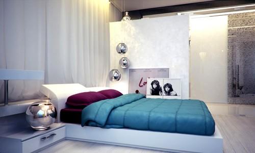 Ý tưởng lớn cho căn phòng ngủ nhỏ